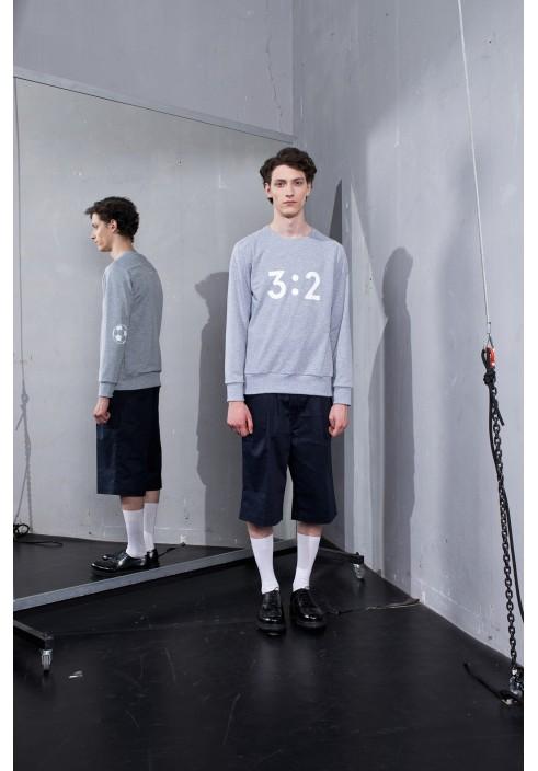 3:2 Graphic Grey Sweatshirt