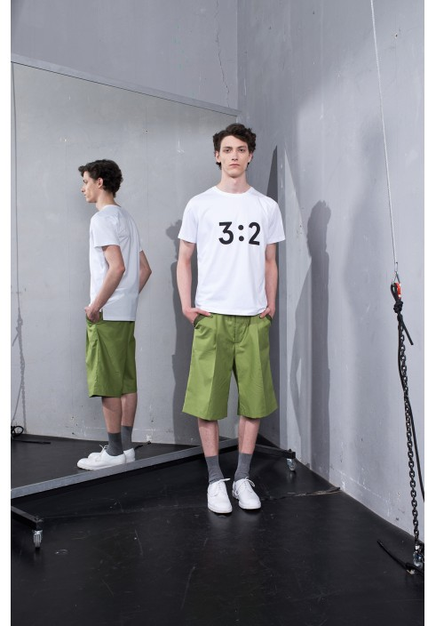 3:2 Graphic White T-shirt