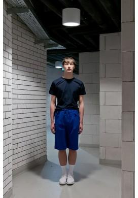 Blue Color Block T-shirt
