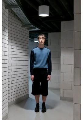 Drawstring Midnight Blue Long Cut Shorts