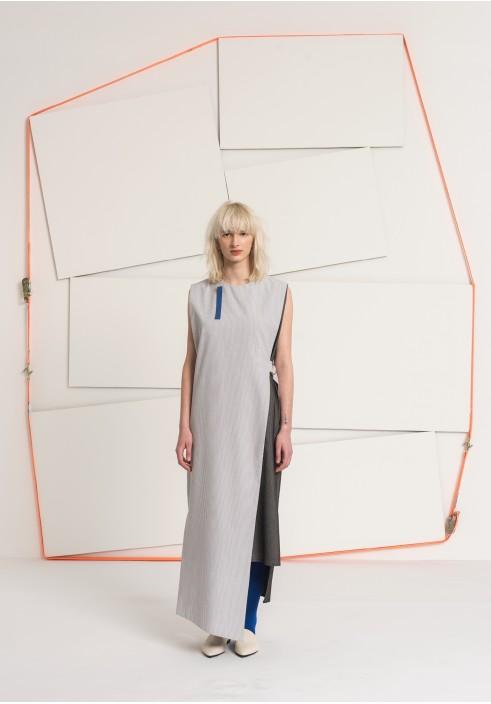 Sleeveless Long Layered Dress