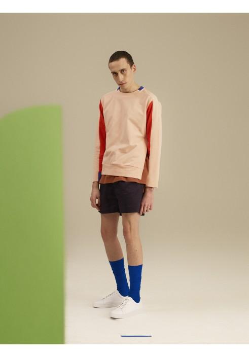 Drawstring Midnight Blue Shorts