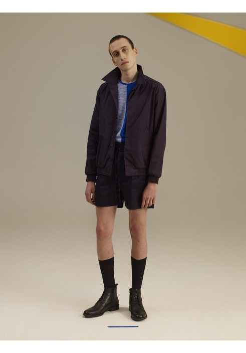 Midnight Blue Harrington Jacket